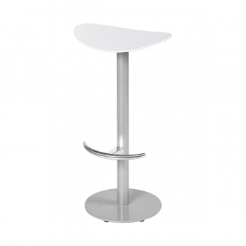 Bar Stool Coma, white