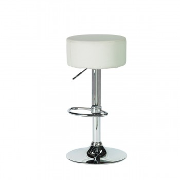 Bar Stool Golf, white