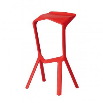 Bar Stool Miura, red