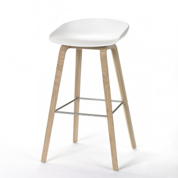 About a Stool, white