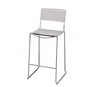 Bar Stool Arlo, grey