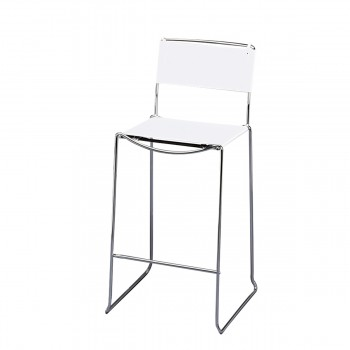 Bar Stool Arlo, white