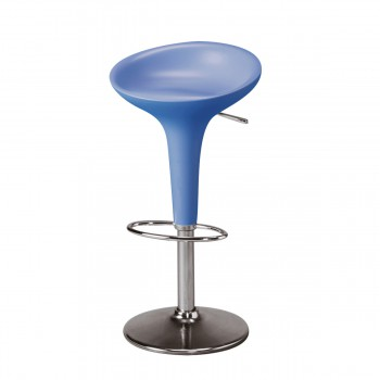 Bar Stool Bombo, blue