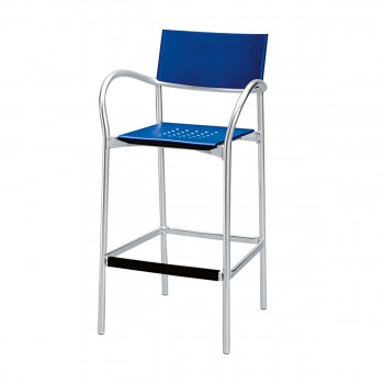 Bar Stool Breeze, blue