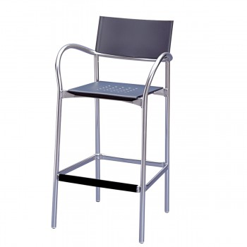 Bar Stool Breeze, grey