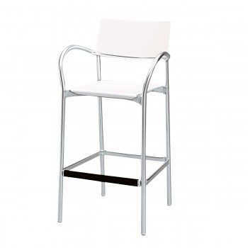 Bar Stool Breeze, white