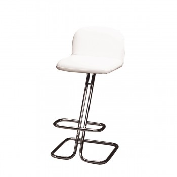 Bar Stool Bruno, white