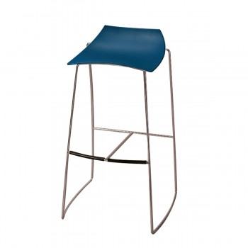 Bar Stool Hoop, blue