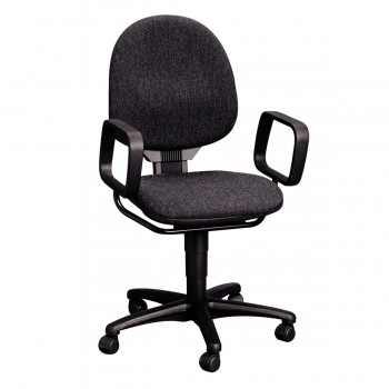 Swivel Chair with armrests, anthracite
