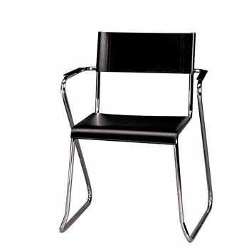 Chair Milano, free swinging, black