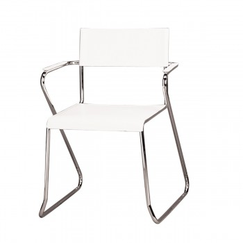 Chair Milano, free swinging, white