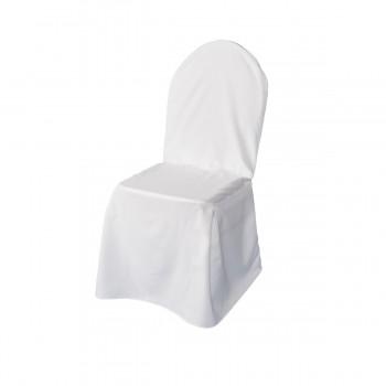 Chair cover, white