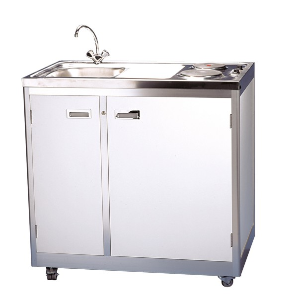 Kitchen Set Expo: Compact Kitchen Unit, Half Size