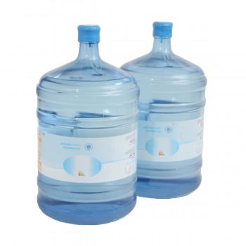 Watercooler-Refillset with 2 x 18,9 l water and 200 cups