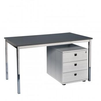 Desk 120, grey