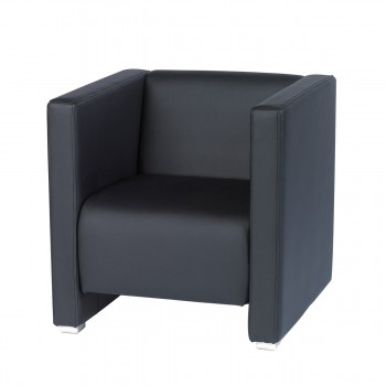 Easy Chair York, black