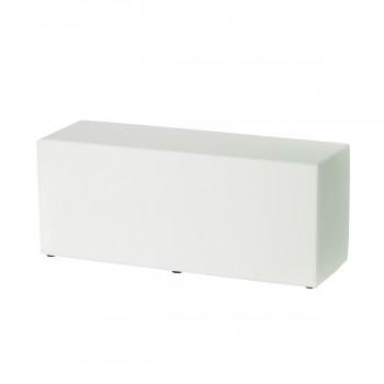 Bench Qube, white