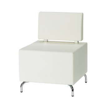 Seating-Element Multi II (with backrest), white