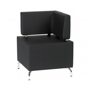 Seating-Element Multi III (corner), black