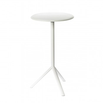 Standing Table Miura, grey white