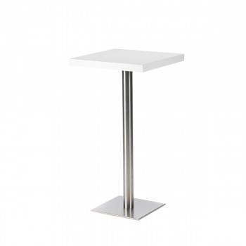 Standing Table Quadro, white