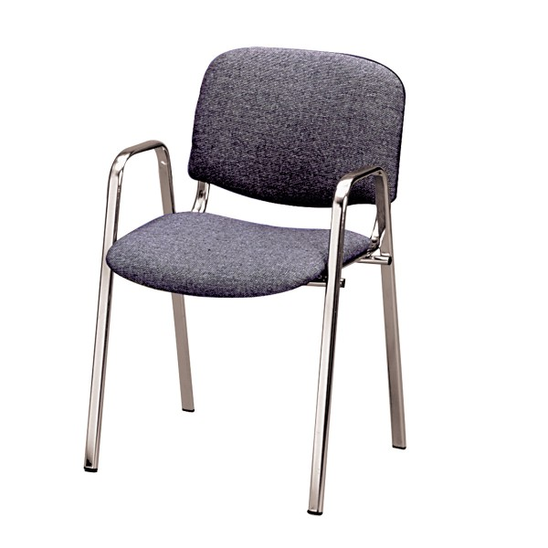 Chair Dublin With Armrests Anthracite Chairs Expo Mietmobel
