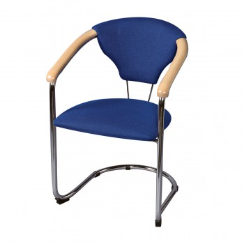 Chair Kelly, blue