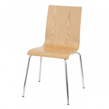 Chair Ken, natural wood