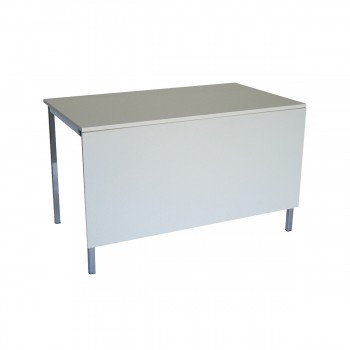 Table Standard 120 mit Blende, white