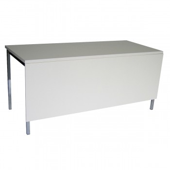 Table Standard 160 mit Blende, white