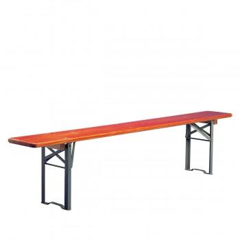 Folding bench, klappbar