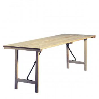 Folding table, 150/70